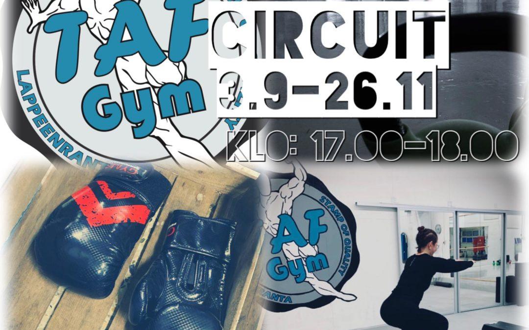 Circuit-treenit 3.9. – 26.11.