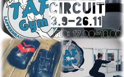 Circuit treenit 3.9 – 26.11