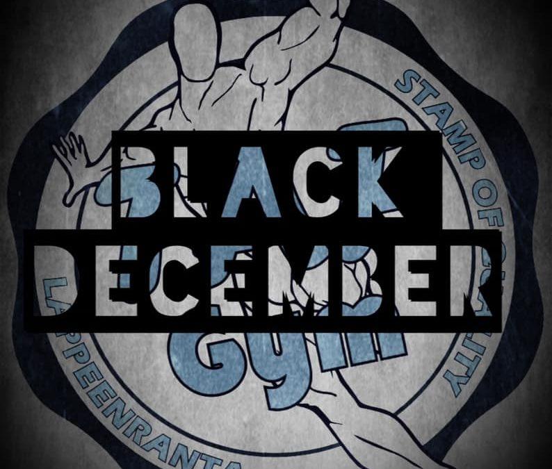 Black December saapuu gymille 1.12.