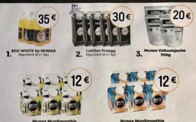 Nyt saatavilla laadukkaat Munax oy:n tuotteet